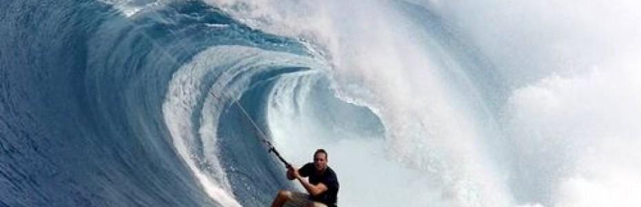 how to kitesurf waves