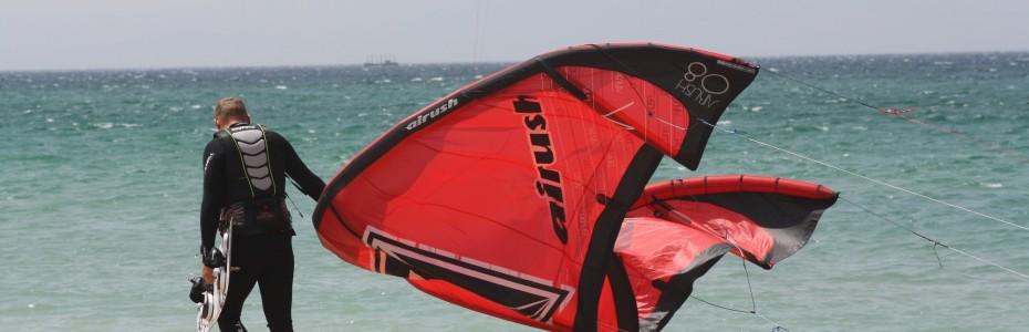 Kitesurfing mastery takes time and dedication