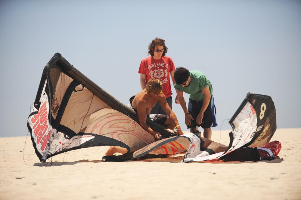 Setting Up An LEI Kite