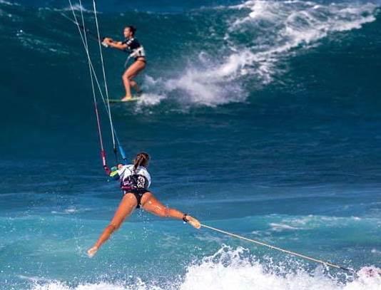 kitesurf board leash
