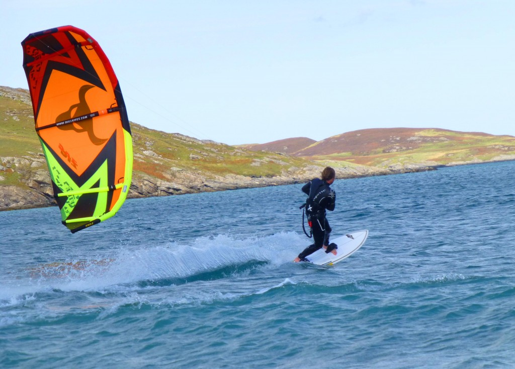 Kitesurfing Scotland