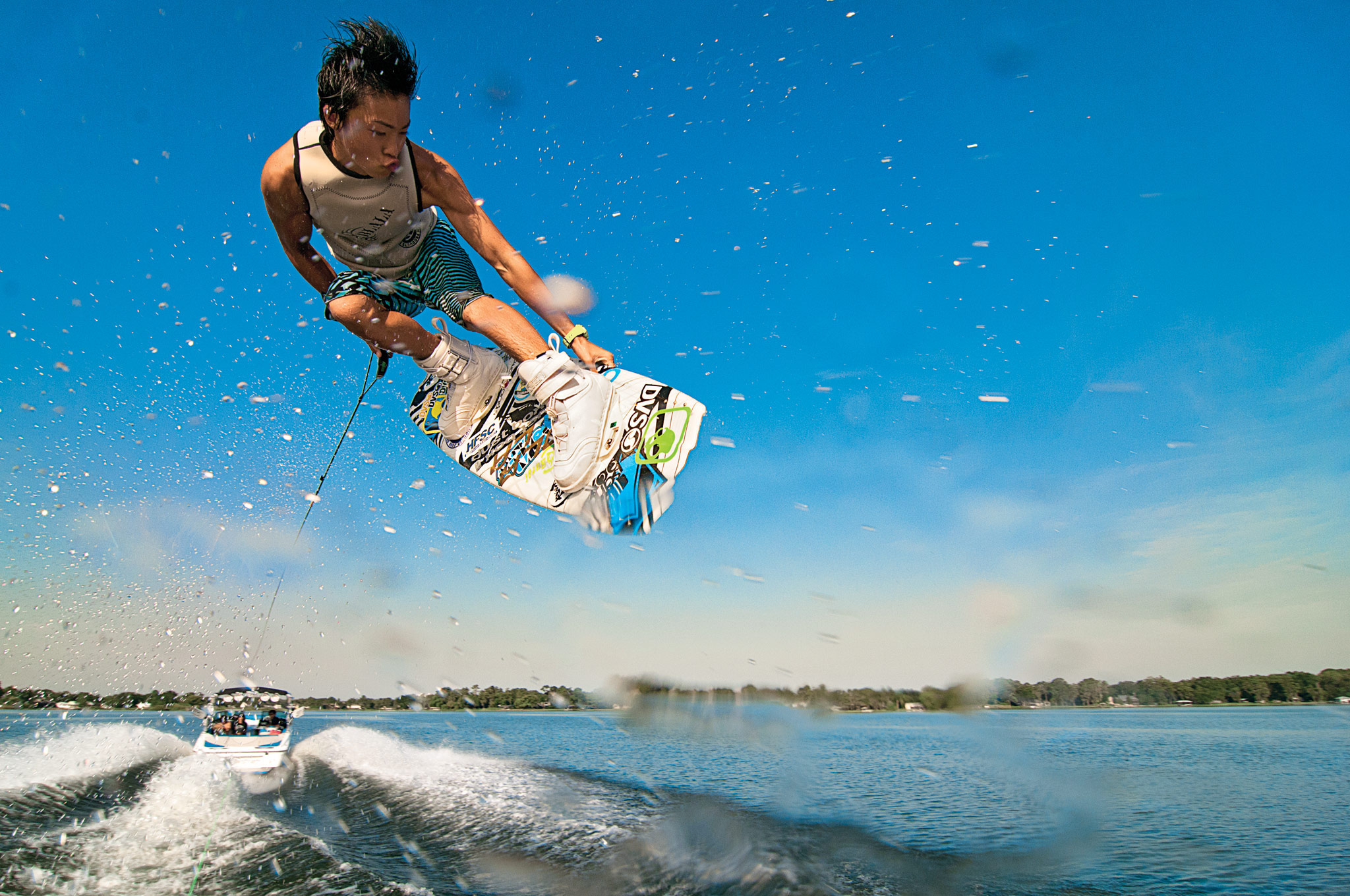 Learn wakeboard tantrum instruction